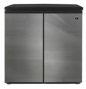 5.5 CU FT SIDE BY SIDE 2 DOOR REFRIGERATOR/FREEZER ESTAR