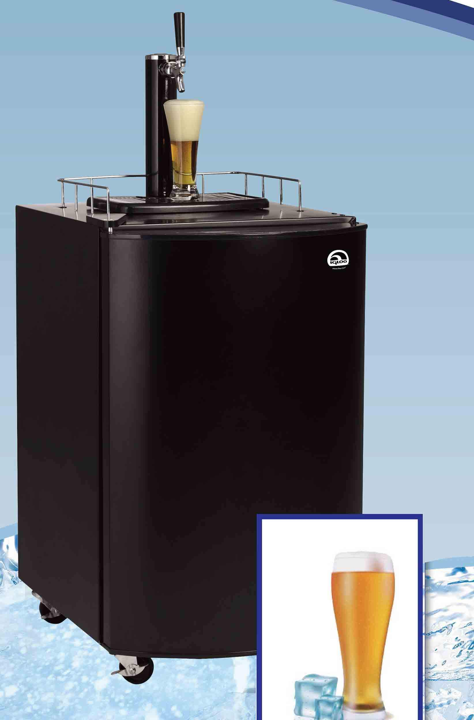 4.6 CU FT. KEGERATOR BEER BAR