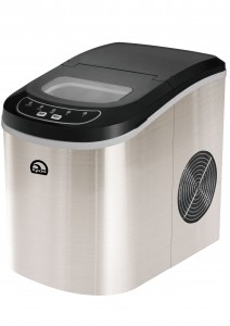 STAINLESS PORTABLE ICE MAKER