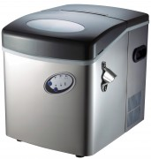 STAINLESS COMPACT ICE MAKER